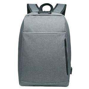 ALLACKI Men Backpack Reflect Light Back To School Bags Travel Knapsack