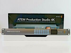 Blackmagic Design ATEM Production Studio 4k Live Switcher Multiview SDI