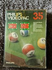 Philips Videopac G7000 Game 35 Electronic Billiards.