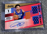2018-19 PANINI ABSOLUTE TOOLS OF THE TRADE JEROME ROBINSON ROOKIE RC AUTO JERSEY