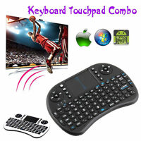 2.4GHz Wireless Mini Handheld Keyboard Mouse Touchpad for Laptop PC Android TV