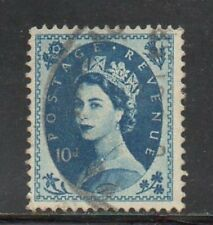 SG 527 10d Prussian Blue Tudor Crown - Fine Used