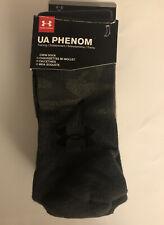 NWT Men's Under Armour UA Training Crew Socks 3 Pairs $20 Size 4-8