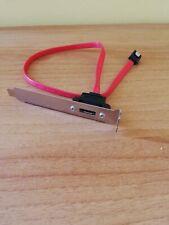 Cavo adattatore Sata - Esata con lamierino / Cable Adapter  SATA - ESATA