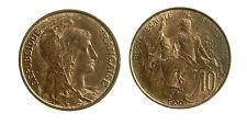pcc1839_64) FRANCIA France, Dupuis, 10 Centimes, 1900, Paris