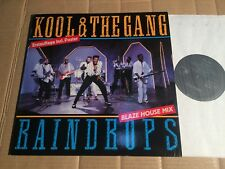"KOOL & THE GANG - RAINDROPS  (BLAZE HOUSE MIX) - 12""-MAXI + POSTER 1989 (DI2523)"