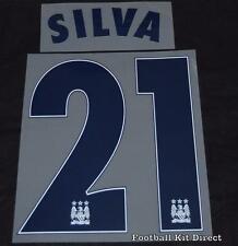 Manchester City Silva 21 2015/16 Uefa Champions League Name/Number Home