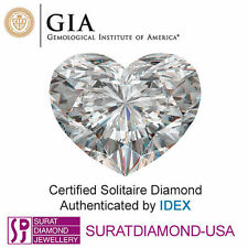 Natural (Rough) Heart GIA Certified Loose Diamonds