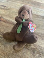 Ty Beanie Baby Babies Seaweed The Otter With Tags Style - 4080