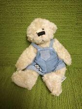 """ALICE'S BEAR SHOP - COBBY """" PLUSH TEDDY BEAR SOFT TOY - RUSS"""