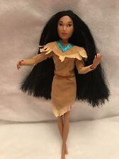 Disney Princess Pocahontas Rare Long Sleeve Barbie Doll Articulated Joint