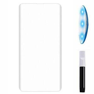 Pellicola schermo vetro FULL GLUE colla luce UV per Samsung Galaxy S10+ Plus