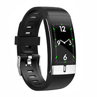 E66 Smart Band PPG ECG Body Temperature Heart Rate Monitor Fitness Tracker Watch