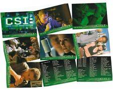 CSI Crime Scene Investigation Series 1 (One) - 100 Card Basic/Base Set - 2003
