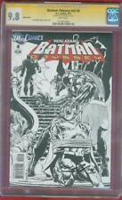 Batman Odyssey 4 CGC SS 9.8 Neil Adams Signed Sketch Variant Top 1 Robin Bondage