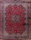 Vintage Floral Kashmar Classic Hand-Knotted Oriental Wool Area Rug 10x13 Carpet
