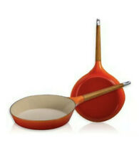 1958 LE CREUSET RAYMOND LOEWY SKILLET VOLCANIC/FLAME 15282 LIMITED EDITION NEW