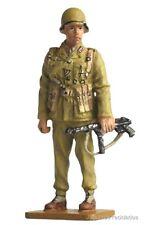 SOL003 WARRANT OFFICER AFRIKAKORPS GERMANY 1941 WWII SOLDADO PLOMO lead soldier