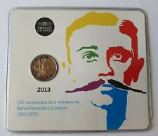 coincard 2 euro France 2013 Pierre de Coubertin /! voir photos
