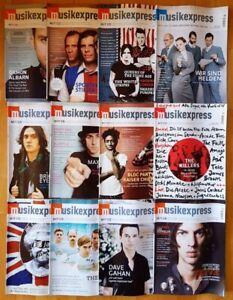 12x Musikexpress 2007 Zeitschrift Magazin Sammlung Hefte Jahrgang Pop Charts