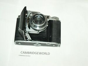 Voigtlander Perkeo II 6X6 FOLDING CAMERA with Color Skopar 80mm f3.5 LENS