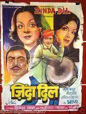 Zinda Dil {Rishi Kapoor} Bollywood Hindi Original Movie Poster 70s