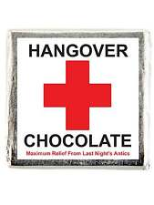 X10 HANGOVER RELIEF CHOCOLATE FAVOUR HEN NIGHT PARTY HEN DO FAVOUR GIFTS