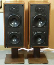 Vintage B&W Bowers & Wilkins DM14 Floor Speakers