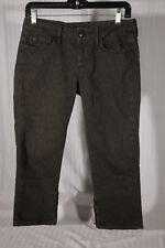 JOE'S JEANS Women's Size 27 Dark Green Animal Print Ankle Chelsea Jeans