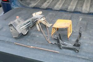 Tonka Mighty toy parts - tow hook, cab, jack etc - Pressed Steel