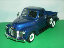 1/24 Scale 1953 Chevrolet 3100 Pickup Truck Diecast Model - Welly 22087 Blue