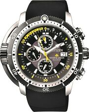 Citizen Promaster BJ2127-16E Solar Aqualand Chronograph 200m Divers Watch.