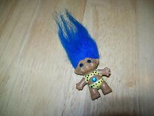 "Ace Novelty 1 1/2 "" Wish Stone Blue Stone And Hair 1992"
