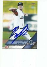 BAILEY FALTER Autographed Signed 2017 card Lakewood BlueClaws Phillies COA