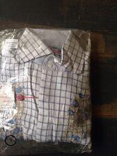 ENGLISH LAUNDRY Herren L Hemd Freizeithemd Langarm Stickerrei NP:199€ ELW-522