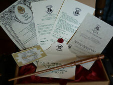 R2. Real Wood Magic Wand,acceptance letter, spells,form .Handmade.Harry Potter.