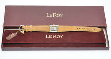 Le Roy Lady's steel watch, vintage, good condition++