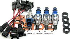 310cc Honda Civic Integra Turbo D16 B16 B18 Fuel Injectors Plug & Play for OBD2