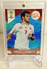 New listing 2014 Tranquillo Barnetta Prizm World Cup Blue Pulsar Switzerland Card SSP /55