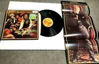 The Gambler by Kenny Rogers LP IN SHRINK w HYPE STICKER w POSTER VG+
