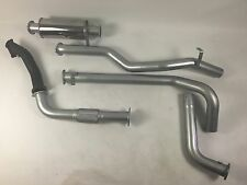 """Toyota Landcruiser 79 Series 1HZ (DTS TURBO FITTED) 3"""" Aluminised Exhaust"""