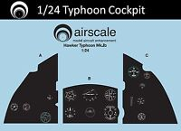 1/24 Airfix Hawker Typhoon cockpit decals - Airscale AS24 TIFF