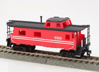 HO Scale Transfer Caboose, End Cupola, #689 Custom Paint Added