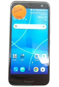 HTC U11 Life 32GB Sapphire Blue T-Mobile Smartphone Cracked Screen For Parts
