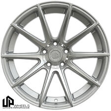 UP100 19x8.5 5x112 Silver ET45 Wheels Rims Fits VW cc eos golf rabbit