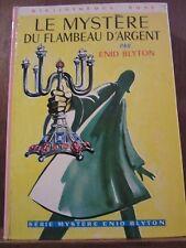 Enid Blyton: Le Mystère du Flambeau d'Argent/ Bibliothèque Rose Hachette