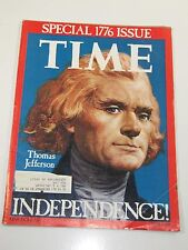 Magazine- Time, Thomas Jefferson- Special 1776 Issue