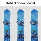 6 Snowboard Wall Mount Storage,Floating Hanger Rack,MINIMALIST SNOWBOARD DISPLAY