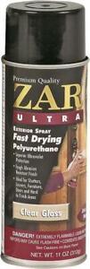 ZAR 34007 11 oz Clear Gloss Fast Drying Ultra Exterior Polyurethane Spray