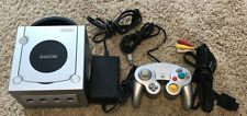 Nintendo GameCube Silver Platinum DOL-001 Console System Tested